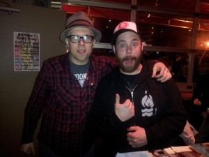 Best Friends Forever! Kris Roe from The Ataris and Dammit Damian