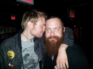 Beard Snuggles with Nick Harris from Luther!