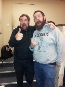 Two thumbs up on today's interview with James Dewees of Reggie and The Full Effect!