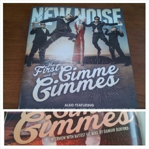 Cover boy! My interview with Fat Mike about Me First and The Gimme Gimmes made the cover of New Noise Magazine #9! Out now!