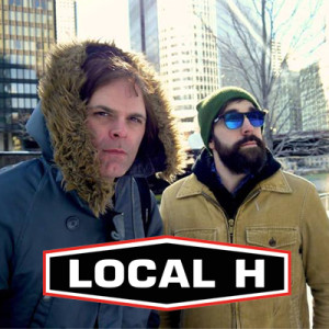 Scott Lucas and Ryan Harding of Local H enjoying this very warm summer.