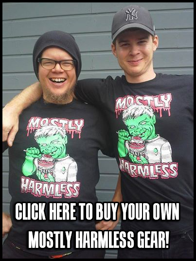 Mostly Harmless shirts designed by Chris Shary!