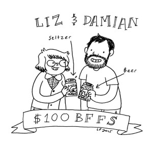 Dammit Damian and Liz Prince! (Author of TOMBOY & Will You Still Love Me If I Wet My Bed) $100 BFF club!!!!!!!!!!!!!!!!