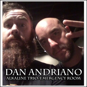 Woah! Damian corners Dan Andriano and gets creepy with the Alkaline Trio bass player about his new group: Dan Andriano and the Emergency Room!!!