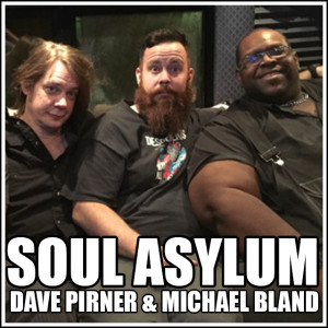 Soul Asylum sand-wish as 14 year old Damian freaks out, haning out with Dave Pirner & Michael Bland (Who is also PRINCE's drummer!)