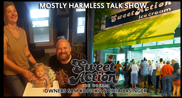 Oh how sweet the action is down at Sweet Action Ice Cream! Today we're chatting with owners Sam Kopicko & Chia Basinger!