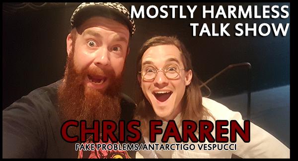 124 – Chris Farren (Fake Problems/Antarctigo Vespucci) talks depression, creative juices, working with Jeff Rosenstock and hints new album!