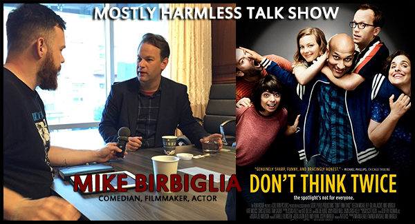 Morning coffee with Mike Birbiglia, comedian & filmmaker of Don't Think Twice!